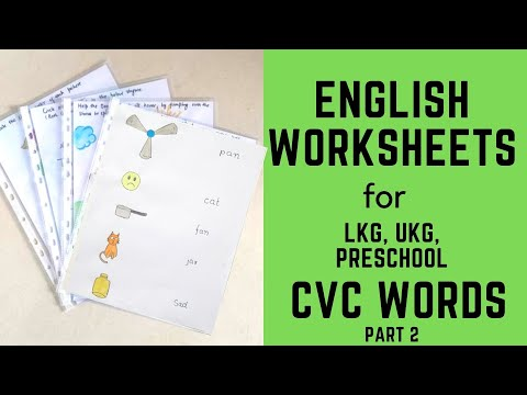 Teach Reading To 4-6 Years Old - Part 2