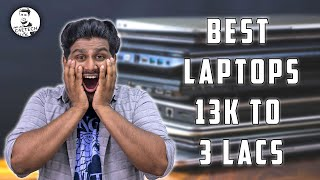 Best Laptops from 13k to 3 Lacs for Production, Gaming & Portability! (NOT Sponsored)