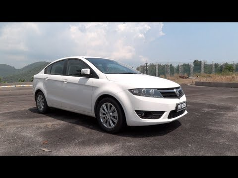 2012 Proton Preve CFE 1.6 CVT Premium Start-Up, Full Vehicle Tour and Test Drive