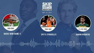 Bucks win Game 4, CP3's struggles, Aaron Rodgers | UNDISPUTED audio podcast (7.15.21)