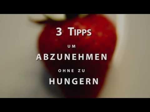 Video des Menüs die Abmagerung
