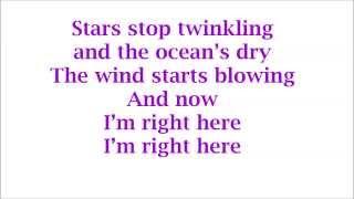 Rita Ora - I'm Right Here LYRICS (HD CDQ) *2014*