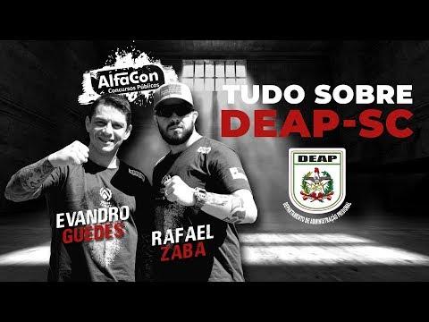 Bate-papo com Evandro Guedes e Rafael Zaba - Ao Vivo - Tudo Sobre o DEAP-SC  - AlfaCon