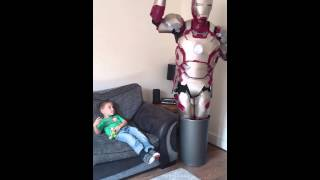 Marvel-ous dad ironman #grooting