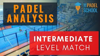 Matchanalys och taktikvideo från The Padel School