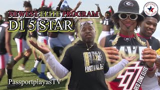 """THE """"D1 5 STAR"""" SEASON... THE RISE OF AN ELITE 7ON7 PROGRAM IN VERY 1ST HS SZN!!!"""