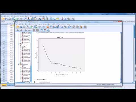 Factor Analysis Using SPSS