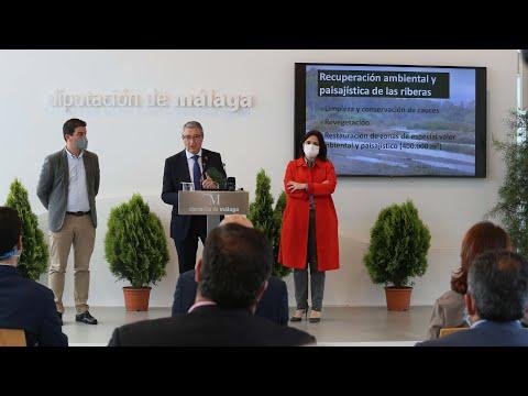 Presentación del Corredor Verde del Guadalhorce, el nuevo gran proyecto de la Diputación de Málaga