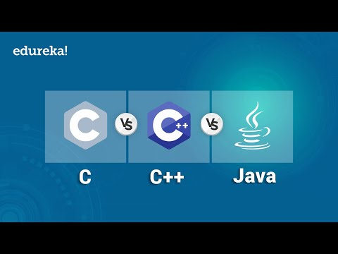 C v/s C++ v/s Java   Difference Between C, C++ and Java   Edureka