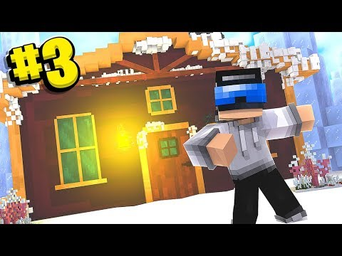 10,000 Likes And Tewtiy Destroys My Minecraft Ski Lodge  - Minecraft The Cube SMP #3