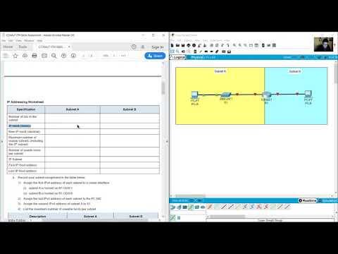 CCNAv7 ITN Skills Assessment - YouTube