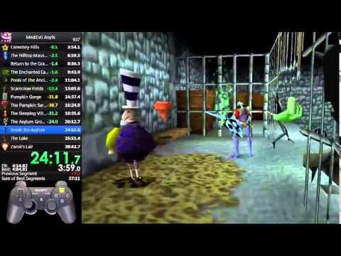 MediEvil Any% Speedrun38:30 (World Record)