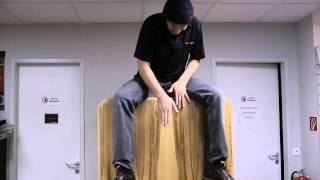 The World's Largest Snare Cajon 2
