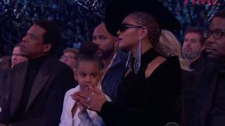 Gambar cover Blue Ivy Tells Beyonce & Jay-Z To Stop Clapping During Camila's Grammys Speech