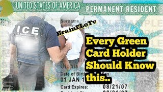 Every Green Card holder should hear this