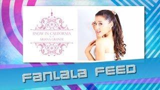 "Ariana Grande Makes It ""Snow in California"""
