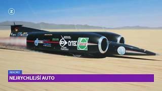 Nejrychlejší auto na světě  I  REKORDY