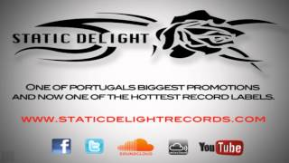 static delight records info flyer