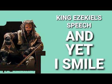 Walking Dead And Yet I Smile King Ezekiel Speech S8 Ep 4