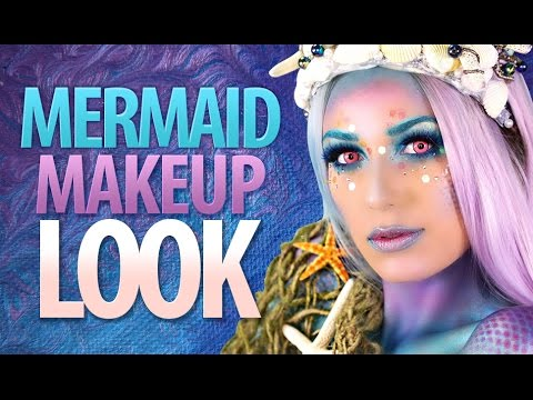 Mystical Mermaid Halloween Costume and Makeup Tutorial Victoria Lyn Beauty