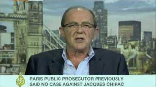 Jacques Reland on the prosecution of Jacques Chirac