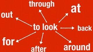 Фразовый глагол TO LOOK. Значения. Примеры из жизни. Урок английского для всех.