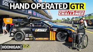 Racing With Hand Controls Only? 1000+ Horsepower Nissan GTR Gets Driven by Chairslayer!