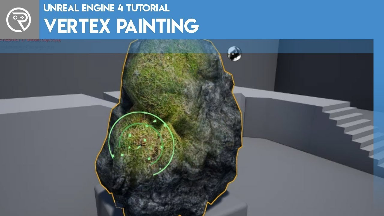Unreal Engine 4 Tutorial - Vertex Painting