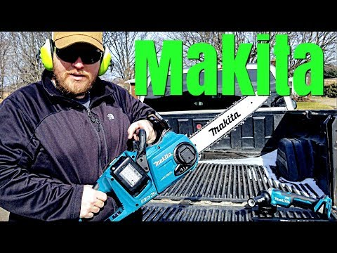 New Makita Chainsaw & Angle Grinder Review