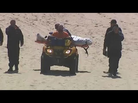 Δυστύχημα με παραπέντε στην παραλία Μέκο