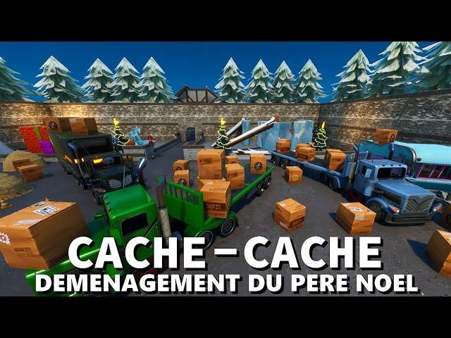 CACHE CACHE DÉMÉNAGEMENT DU PÈRE NOEL