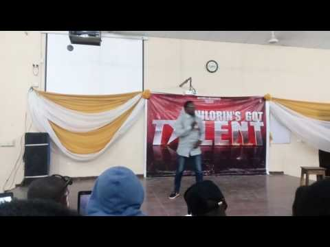 Ty Jokez Spices up Fans at Unilorin Got Talent