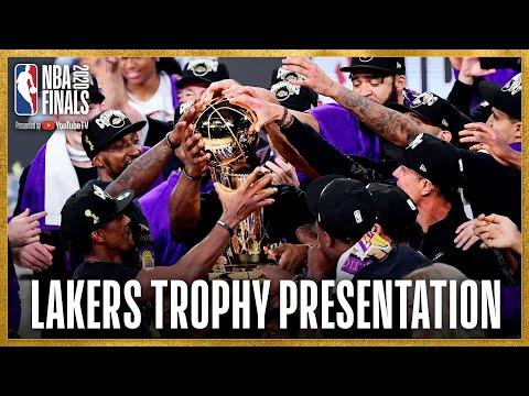 Los Angeles Lakers NBA Championship Celebration