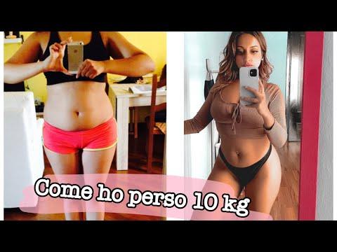 Pancia perdita di peso prima e dopo
