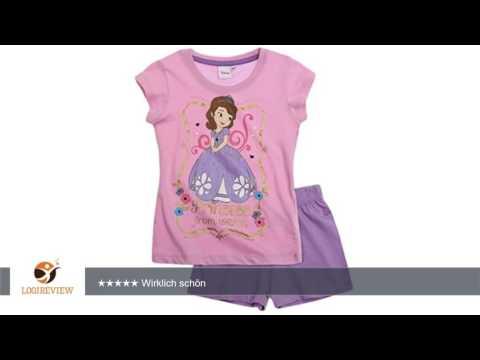 Sofia die Erste Pyjama Kollektion 2016 Shortie 86 92 98 104 110 116 122 128 Schlafanzug Kurz Mädchen