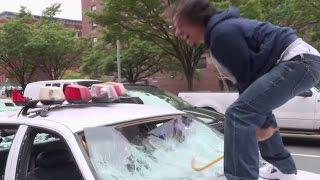 Cop Car Smash   The Eric Andre Show   Adult Swim