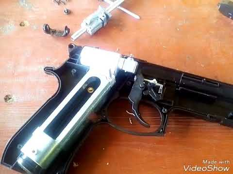 Разборка, сборка, ремонт пневматического пистолета Stalker своими руками.