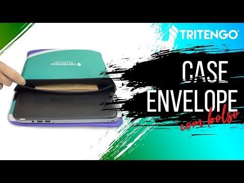 "Case Envelope com Bolso para Notebook Personalizado 15,6"" para Brindes"