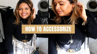 HOW TO ACCESSORIZE - PLUS SIZE FASHION