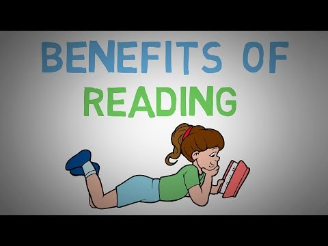 Video Why you should read books  - The benefits of reading more (animated)