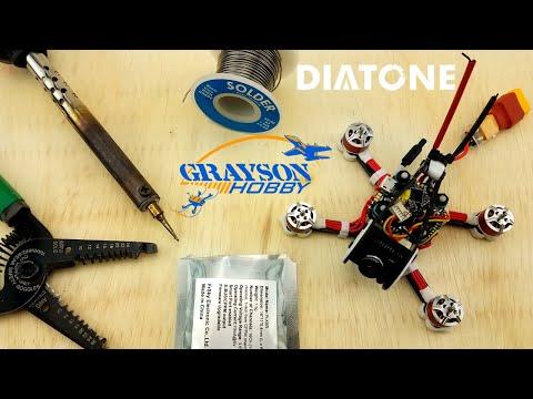 diatone-gtr90-installing-xm--xm--solder-frsky-receiver-into-gt90
