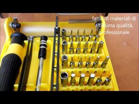 45 pezzi Set cacciavite NIUTOP®