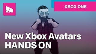 Hands-on with the new Xbox Avatars!
