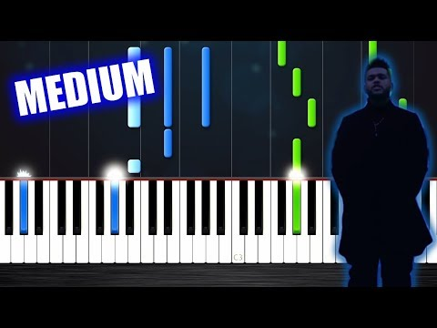 The Weeknd - Call Out My Name - Piano Tutorial (MEDIUM) by PlutaX