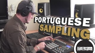 Flipping a Portuguese Sample - Beat Making on MPD32 (prod. by TCustomz)