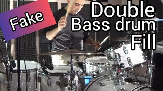 Fake Double Bass Drum Fill | Drum Tutorial