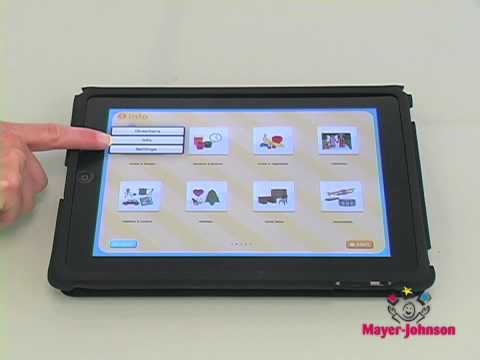 Mayer-Johnson Apps - PCS™ Word Scramble