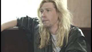 Def Leppard Steve Clark Interview 1988