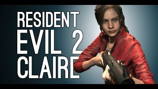 Resident Evil 2 Remake Gameplay: Claire! Lickers! Mr X! - Let's Play Resident Evil 2 Remake