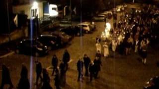 preview picture of video 'Genazzano festa della Venuta 2010, fiaccolata'